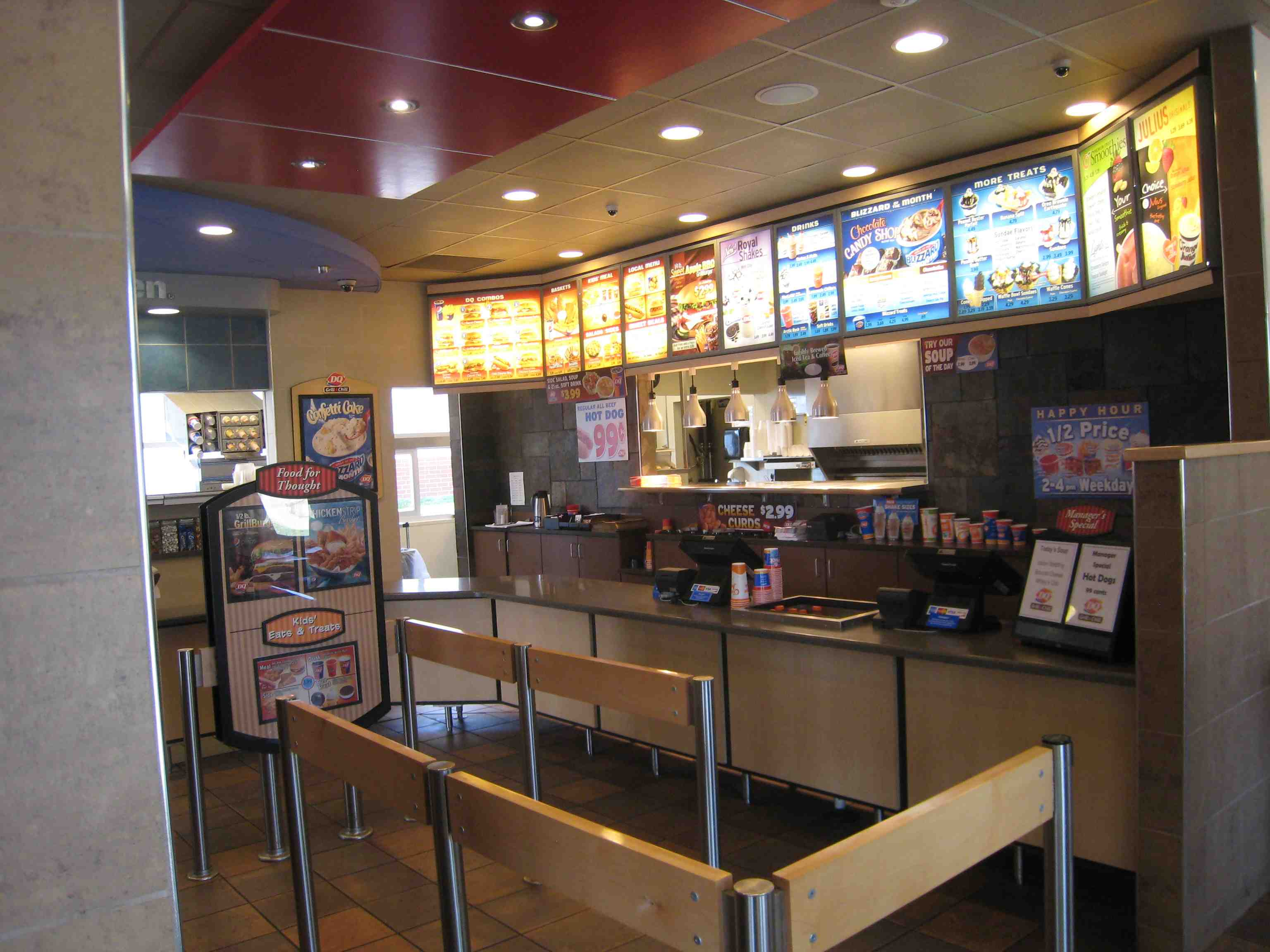 Dq Grill And Chill Dining Room